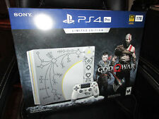 Sony Playstation 4 Pro 1TB Limited Edition God of War Leviathan Gray System