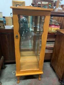 xG25018 Vintage Small China Cabinet Display Cupboard