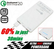 UEB-10 5V USB Output 30W 8000mAh Slim Powerbank Portable Charger
