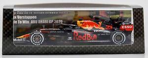 JPN LE | Spark 1:43 Red Bull RB16 Max Verstappen win F1 Abu Dhabi GP 2020 SCS21