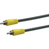 Schwaiger 5m Digital Audio Video Composite Kabel Cinch RCA Stecker TV gelb