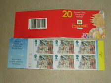 1994 GB Christmas Barcode Cylinder Booklet LX7