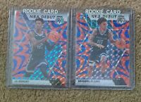 🔥🔥 Ja Morant, Brandon Clarke NBA Debut Red Wave Mosaic RC Rookie Card Lot 🔥🔥