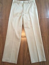 Dockers Men's Pants - 30 x 30 - Khaki Flat Front Straight Fit - EUC!