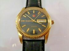 Watch Rado Voyager Mens Watch Automatic Black Dial Knight