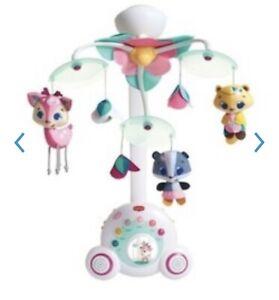 Tiny Princess™ Tiny Princess Tales Baby Musical Crib Mobile, Toddler Music Box