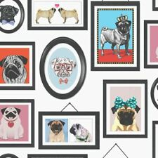 A Pug's Life Photo Frames Wallpaper Dogs K9 Canine Animals Canine Holden Decor