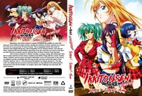 Ikki Tousen (Season 1 2 3 4 + MV) ~ All Region ~ Uncensored + English Version ~