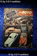 Das Auto AMS 21/50 Ford Taunus 6-Sitzer Nash Healey Salon Paris
