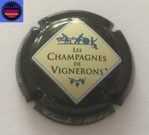 Capsule de Champagne Personnalisée de Vignerons MICHEZ CLAUDE  Noir n°667 !!