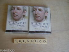 WILLIAM PITT THE YOUNGER - WRITTEN & READ BY WILLIAM HAGUE - 4 TAPE AUDIO BOOK