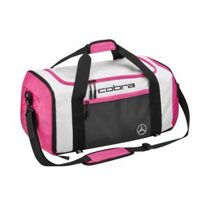 "Mercedes Benz Original Ladies Golf Sport Bag White/Pink "" Cobra "" New Boxed"