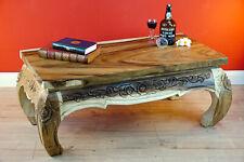 Couchtisch Holz Opiumtisch Massivholz Opium Sofa Tisch Wohnzimmer Holztisch neu