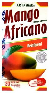 Mango Africano MASTER MAGIC AFRICAN MANGO 30 Capsulas 500 mg Original
