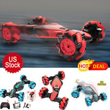 4WD RC Stunt Toy Off-Road Vehicle 2.4G Remote Control Gesture Sensing Car Xmas
