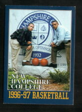 New Hampshire College Penmen--1996-97 Basketball Pocket Schedule--Coke