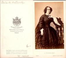 Mayer & Pierson, Paris, Sophie de Wurtemberg, reine de Hollande Vintage CDV albu