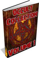RARE OCCULT BOOKS Vol 1 DVD - Astrology,Divination,Swedenborg,Gnostisicm,Magick