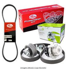 Kit distribuzione e Cinghia servizi Gates + Pompa acqua Seven T. Corolla 1.9 D