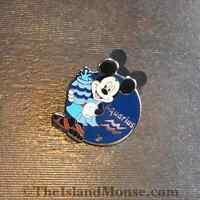 Disney DLR HM Zodiac Aquarius Mickey Pin (UF:88663)
