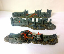 WARHAMMER 40000 40k  URBAN BARRICADES SCENERY PRO PAINTED LOT 1 city of death