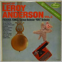 Frederick Fennell Eastman-Rochester Pops Music of Leroy Anderson 2 LP NM NICE