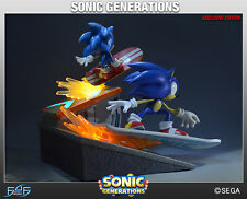 First4Figures Sonic the Hedgehog Generations Diorama Exclusive Mint in Box