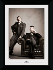 Sherlock Vintage Watson Moriarty Detective 50x70cm Framed Collector Print