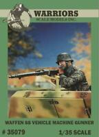 Warriors 1:35 Waffen SS Vehicle Machine Gunner Resin Figure Kit #35079