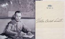 General Walter Bedell Smith WWII Chief Staff, CIA Director, Autograph ''Rare'' .