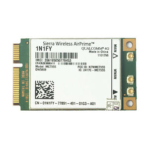 Dell 1N1FY DW5808 Sierra MC7355 4G LTE/HSPA for Latitude 3340 E5440 E7440 E7240
