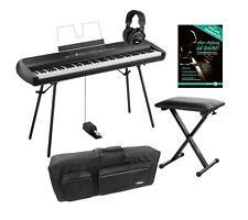 Korg SP-280 BK Portable Piano Set 88 Tasten Pedal Bank Kopfhörer Tasche Schwarz