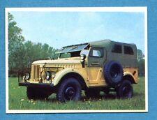 AUTO FLASH - Ed.COX - Figurina/Sticker n. 160 - GAZ 69 -New
