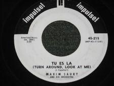 Maxim Saury, Tu Er La (Turn Around Look At Me)/J'entend Siffler Le Train PROMO
