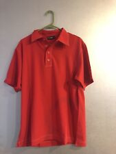 New NWT Men's Black Clover Live Lucky Golf Polo Shirt Small S Jack Red MSRP $65