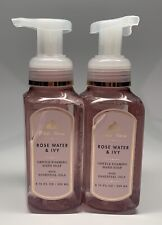 Bath & Body Works White Barn Rose Water & Ivy Gentle Foaming Hand Soap -2 Pack