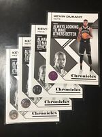 2019-20 Panini Chronicles Basketball Kevin Durant #49 SP Lot 1 Pink 3 Base Nets