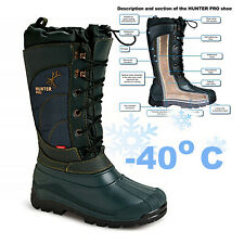 Hunting BOOTS /// Snowboots Fishing Walking Voyager Outdoor Rain /// HUNTER PRO