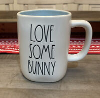 Rae Dunn By Magenta - LL LOVE SOME BUNNY 🐰- Blue Ceramic Coffee Mug - EASTER 🐣