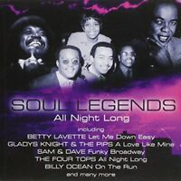Various - Soul Legends-All Night Long (CD) (2004)