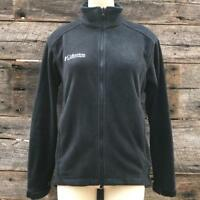 Columbia Fleece Jacket s Women's Full Zip Black Size S