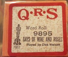 Days Of Wine And Roses - Q.R.S Player Piano Word Roll - 9895
