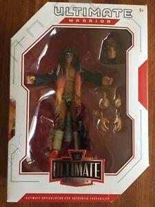 WWE The Ultimate Warrior Ultimate Edition Figure Mattel