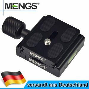 CL-50S Klemme + schnellwechselplatte Aluminium Für DSLR Arca-Swiss Stativ Kamera
