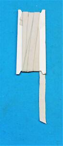 5 METRI ELASTICO PIATTO BIANCO GREZZO 15 MM , STERILIZZABILE 95 gradi,PROTEZIONI