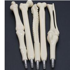Novelty Ball Point Pen Skeleton Bone Shape Nurse Doctor Student Stationery Gift