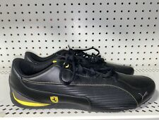 Puma Ferrari Drift Cat 5 SF NM Mens Leather Athletic Shoes Size 12 Black Yellow