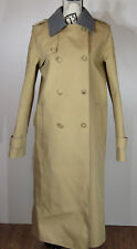 Gabriela Hearst Reversible Double-Breasted Trench Coat Camel/Grey Size 8 US