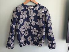 Girls Blue Floral Jasper Conran Bomber Jacket Size 12-13yrs