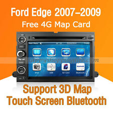 Car Dash DVD GPS Navigation Radio Stereo Bluetooth for Ford Edge 2007 2008 2009